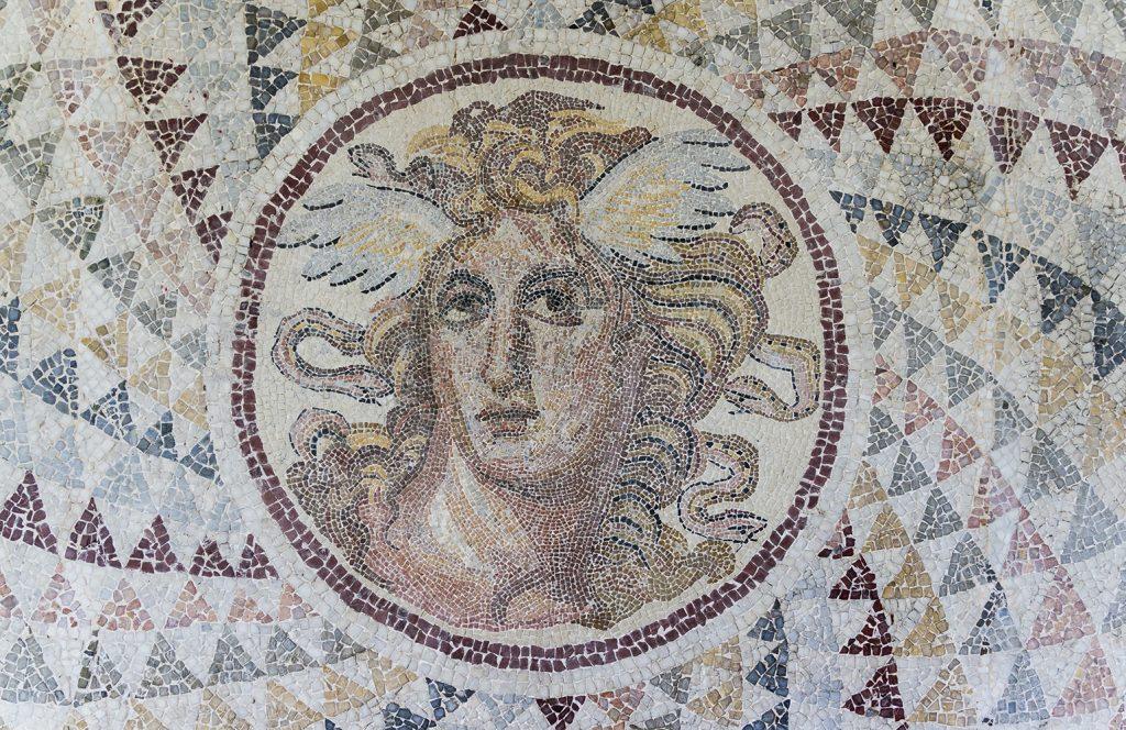 Mosaico romano teselado