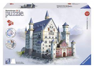 puzzle 2D castillo Neushwanstein
