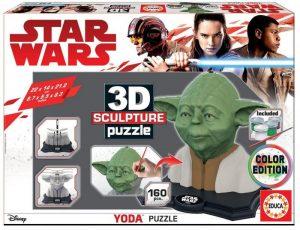 puzzle 3D Yoda StarWars
