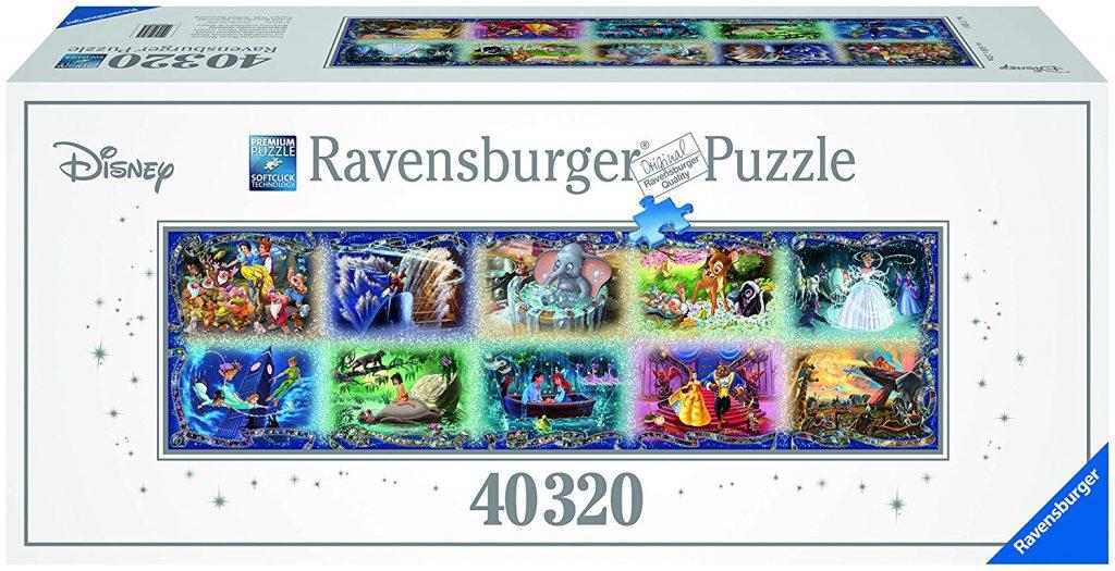 Caja del puzzle Momentos inolvidables de Disney de 40.320 piezas de los fabricantes Ravensburger