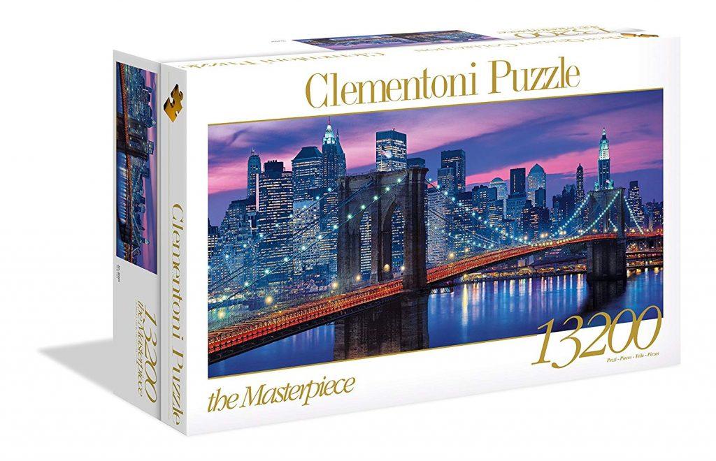 Caja del New York de 13.200 piezas de los fabricantes Clementoni