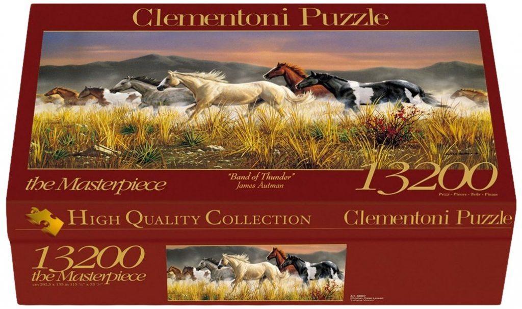 Caja del Band of Thunder de 13.200 piezas de los fabricantes Clementoni