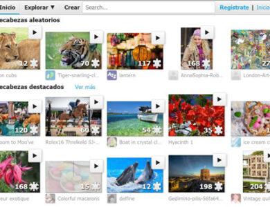 Detalles web de puzzles online gratis jigsawplanet